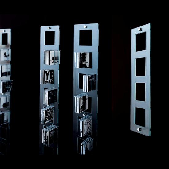 Эксклюзивная стеклянная мебель glasitalia