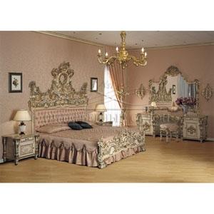 спальни Asnaghi Interiors элитные спальни италии в стиле дворцовой