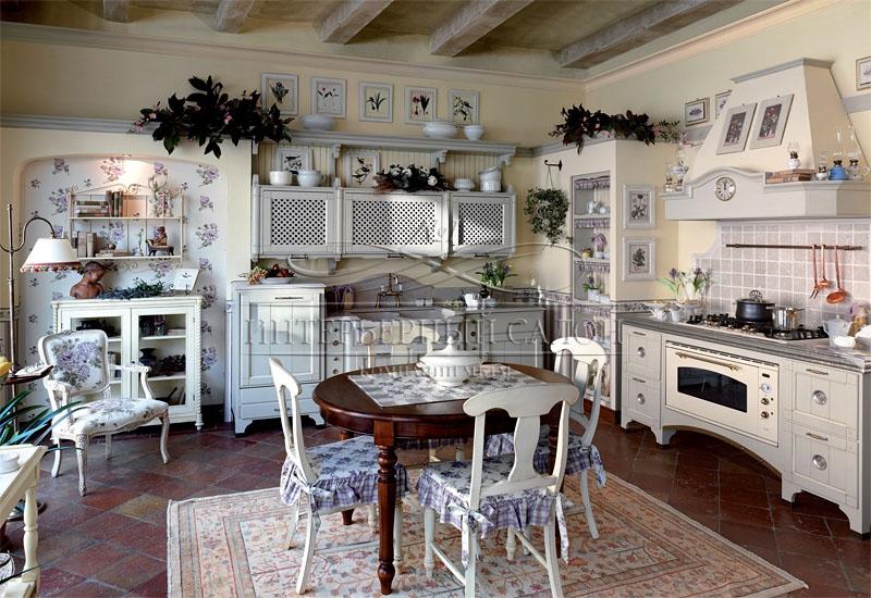 Дизайн кухни в прованс