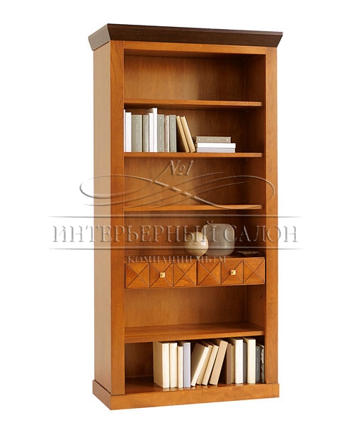 Предметы интерьера италиЯ selva шкаф книжный giotto современ.